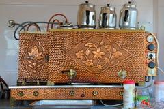 Máquina turca del té imágenes de archivo libres de regalías
