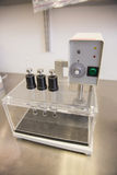Máquina usada na fatura da medicina Imagens de Stock Royalty Free