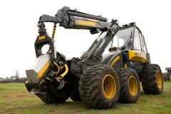 Máquina usada para cortar árvores Imagem de Stock Royalty Free