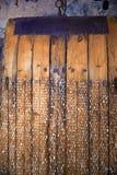 Máquina velha da colheita foto de stock