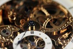 Máquina velha do relógio Fotos de Stock Royalty Free