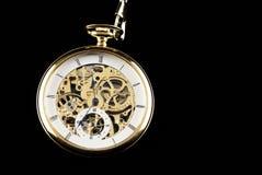 Máquina velha do relógio Imagem de Stock Royalty Free