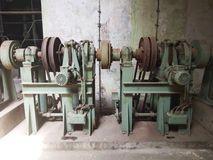 Máquina velha, indústria imagens de stock royalty free