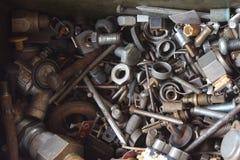 Máquina y detalle de la industria en fondo Foto de archivo