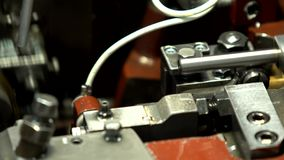 Máquinas, AXIS, tubo, derrame de petróleo almacen de video