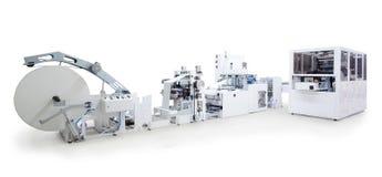 Máquinas da impressão e de empacotamento Imagem de Stock Royalty Free