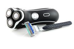 Máquinas de afeitar Fotos de archivo libres de regalías
