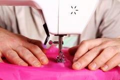 Máquinas de coser Foto de archivo libre de regalías
