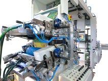 Máquinas de impressão Imagens de Stock