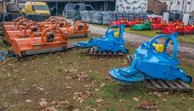 Máquinas de la agricultura Imagenes de archivo