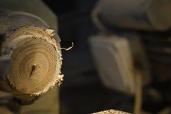 Máquinas de la carpintería imágenes de archivo libres de regalías