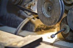 Máquinas de la carpintería imagen de archivo libre de regalías