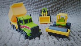 Máquinas de la construcción Imagen de archivo libre de regalías
