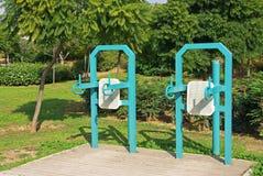 Máquinas de la gimnasia Foto de archivo libre de regalías