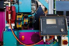 Máquinas de la metalurgia fotografía de archivo libre de regalías