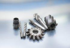 Máquinas de trituração do CNC imagens de stock royalty free
