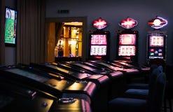 Máquinas del casino fotografía de archivo