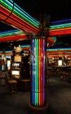 Máquinas do casino e de entalhe Foto de Stock