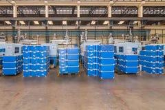 Máquinas en fábrica Fotografía de archivo