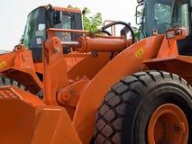 Máquinas escavadoras Imagens de Stock