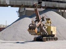 Máquinas escavadoras Fotos de Stock Royalty Free