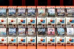 Máquinas expendedoras del juguete Foto de archivo libre de regalías