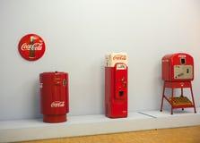 Máquinas expendedoras para la Coca-Cola Imagenes de archivo
