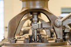 Máquinas históricas en fotografía macra imágenes de archivo libres de regalías