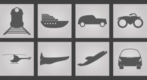 Máquinas para ícones do movimento Imagens de Stock Royalty Free