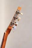 Máquinas principales de la guitarra Foto de archivo