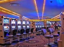 Máquinas tragaperras del casino, Las Vegas Fotografía de archivo