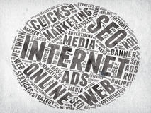 Márketing de Internet Imagen de archivo