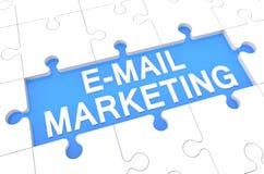 Márketing del email fotos de archivo libres de regalías