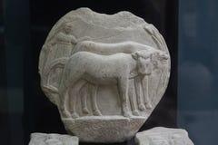 Mármol del alivio del período romano Fotografía de archivo
