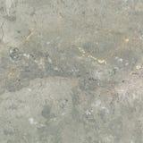 Mármol gris de la brecha, con las grietas de oro Fotografía de archivo