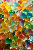 Mármoles coloridos foto de archivo libre de regalías