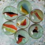 Mármoles coloridos Imagen de archivo libre de regalías