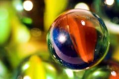 Mármoles de cristal Fotos de archivo libres de regalías