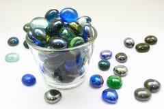 Mármoles de cristal Fotos de archivo
