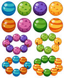 Mármoles en diversos colores libre illustration