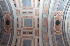 Mármoles en el palacio nacional de Mafra (Portugal) Imagen de archivo