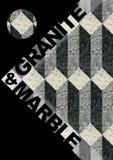 Mármore & granito ilustração royalty free