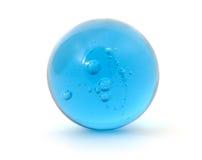 Mármore azul grande do tiro Imagens de Stock