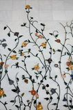 Mármore de Flowereal Imagem de Stock