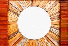 Mármore de madeira da textura e do círculo do teste padrão do vintage fotos de stock