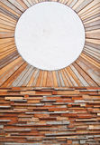 Mármore de madeira da textura e do círculo do teste padrão do vintage imagens de stock royalty free