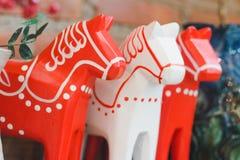 Mármore do cavalo branco fotos de stock royalty free