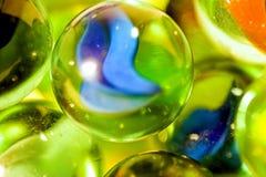 Mármores de vidro Foto de Stock