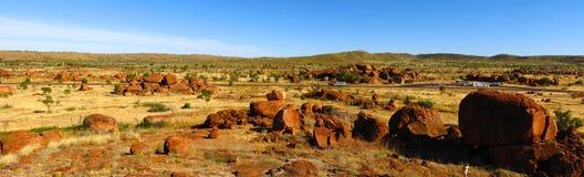 Mármores dos diabos, Território do Norte, Austrália Imagem de Stock Royalty Free