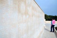 Mártir memoráveis para o 57th regimento de infantaria, Canakkale foto de stock